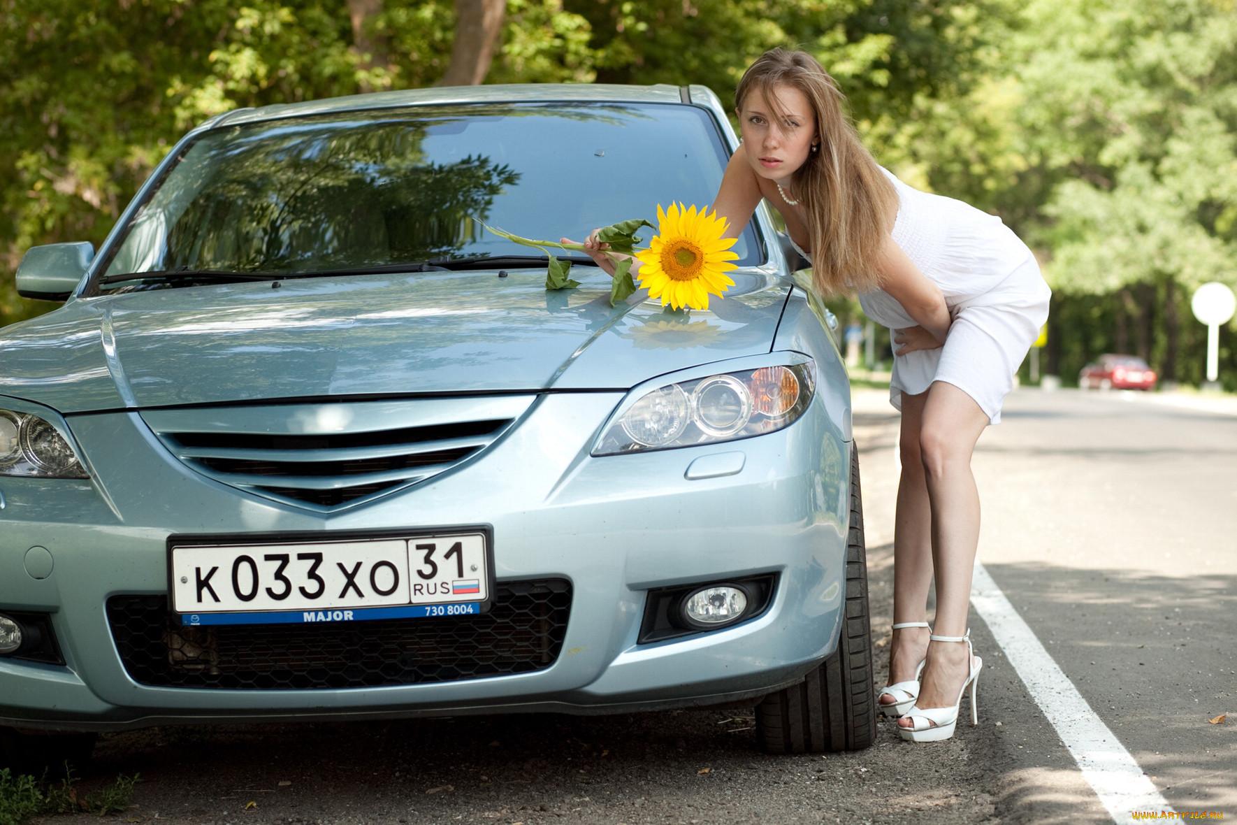 автомобили, авто, девушками, девушки, и